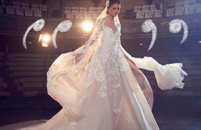 ¿Sabes diferenciar los tipos de telas para tu vestido de novia?