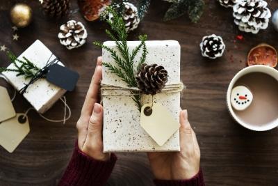 Regalos para invitados de boda en Navidad