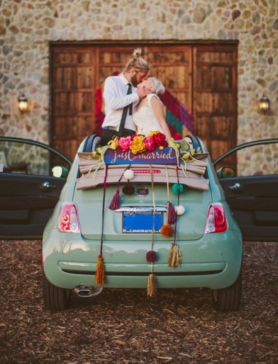 La elección del coche de tu boda es así de sencillo con estos consejos