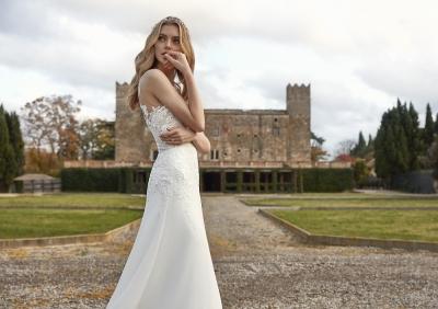 Los vestidos de novia más románticos del 2021