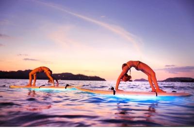 Costa Rica, un destino para los novios más yoguis