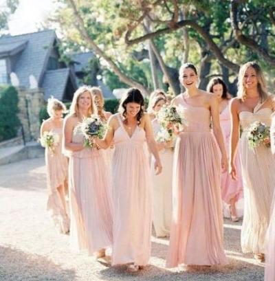 10 vestidos fiesta en tonos neutros