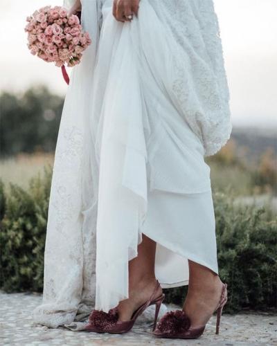 ¿Cómo serán tus zapatos de novia?