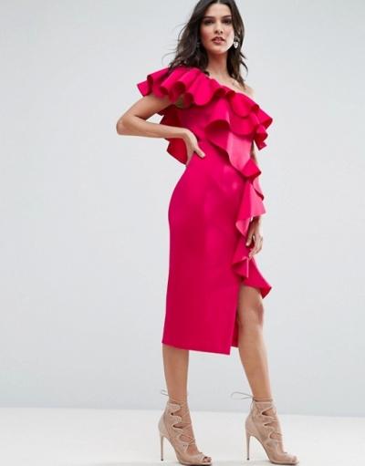 10 vestidos de fiesta con aires flamencos