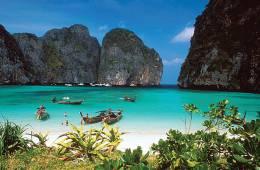 Una luna de miel de premio en Tailandia