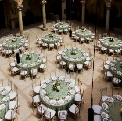 Medems Catering inaugura el Castillo de Batres