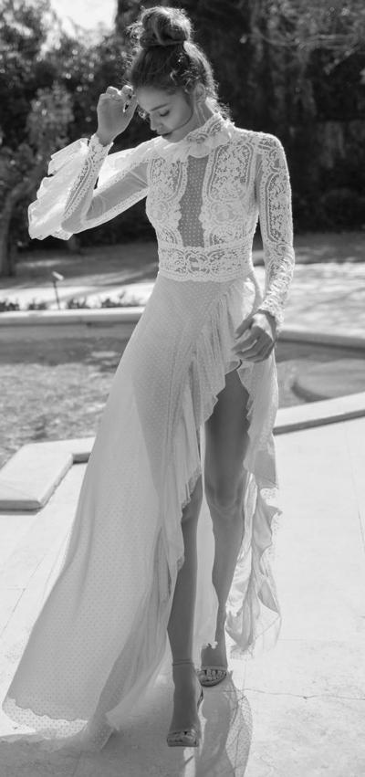 Vestidos de novia para una mujer sexy y atrevida