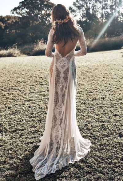 Espaldas de novias de infarto