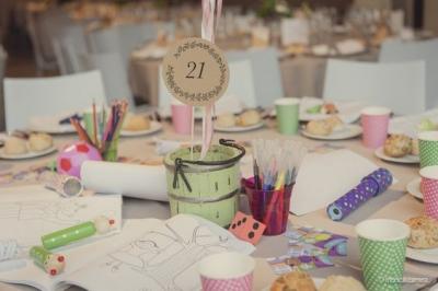 Ideas para decorar una mesa infantil en una boda
