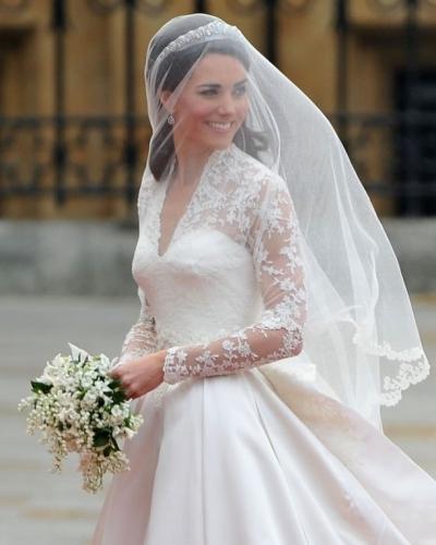 Los vestidos de novia más bonitos de la realeza