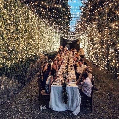 Ideas de decoración para bodas de noche