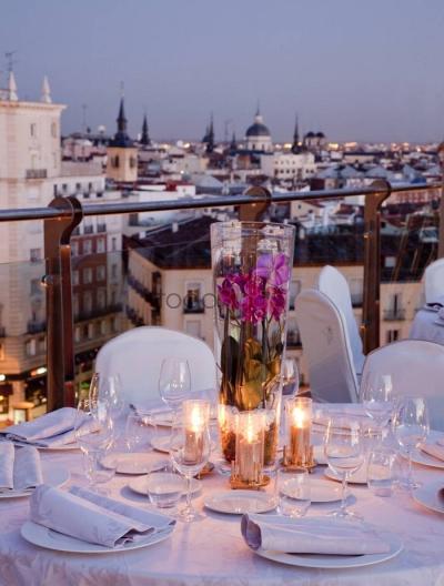 Bodas íntimas; casarte en una terraza en Madrid