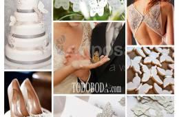 Inspiración para bodas con mariposas