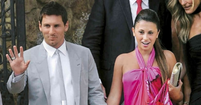 Leo Messi y la boda de oro