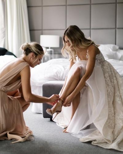 Tipos de zapatos de novia según su forma