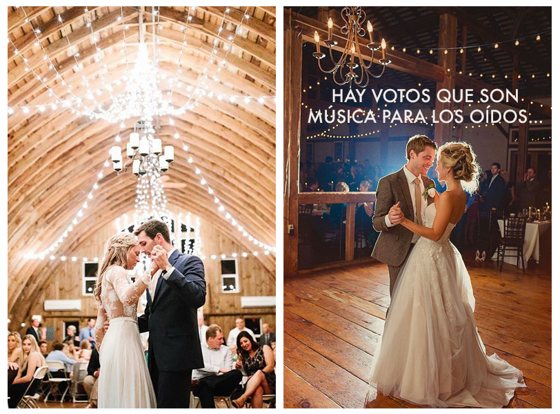 Amor idea original votos matrimonio boda