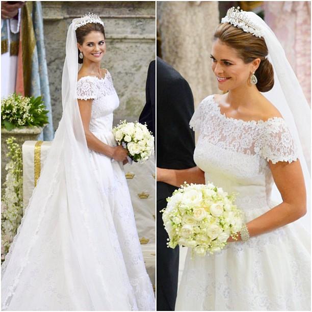 Fotos de vestidos de novia de la realeza
