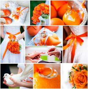 Todobodacom Tu Boda En Color Naranja