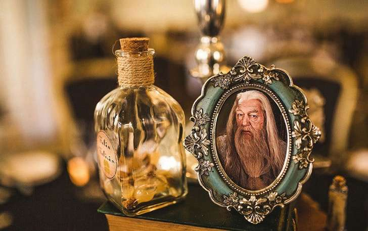 decoracion boda harry potter