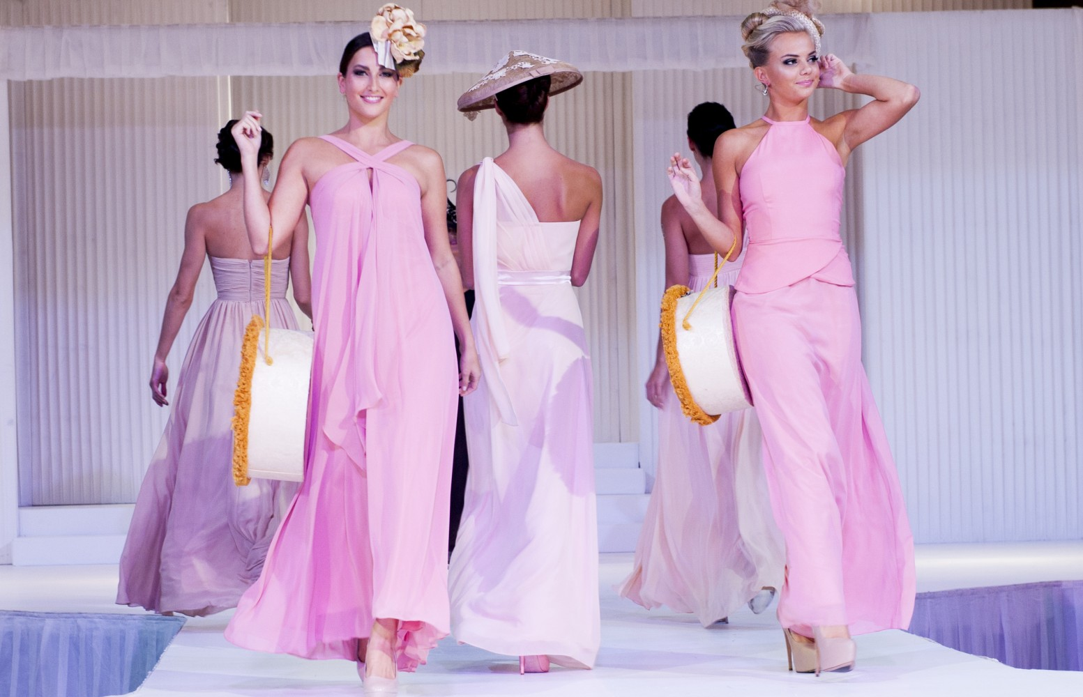sydney bridal expo natasha millani bridesmaid dresses pink 1553x1000