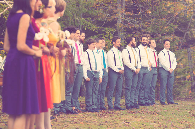 damas de honor en una boda lgbt