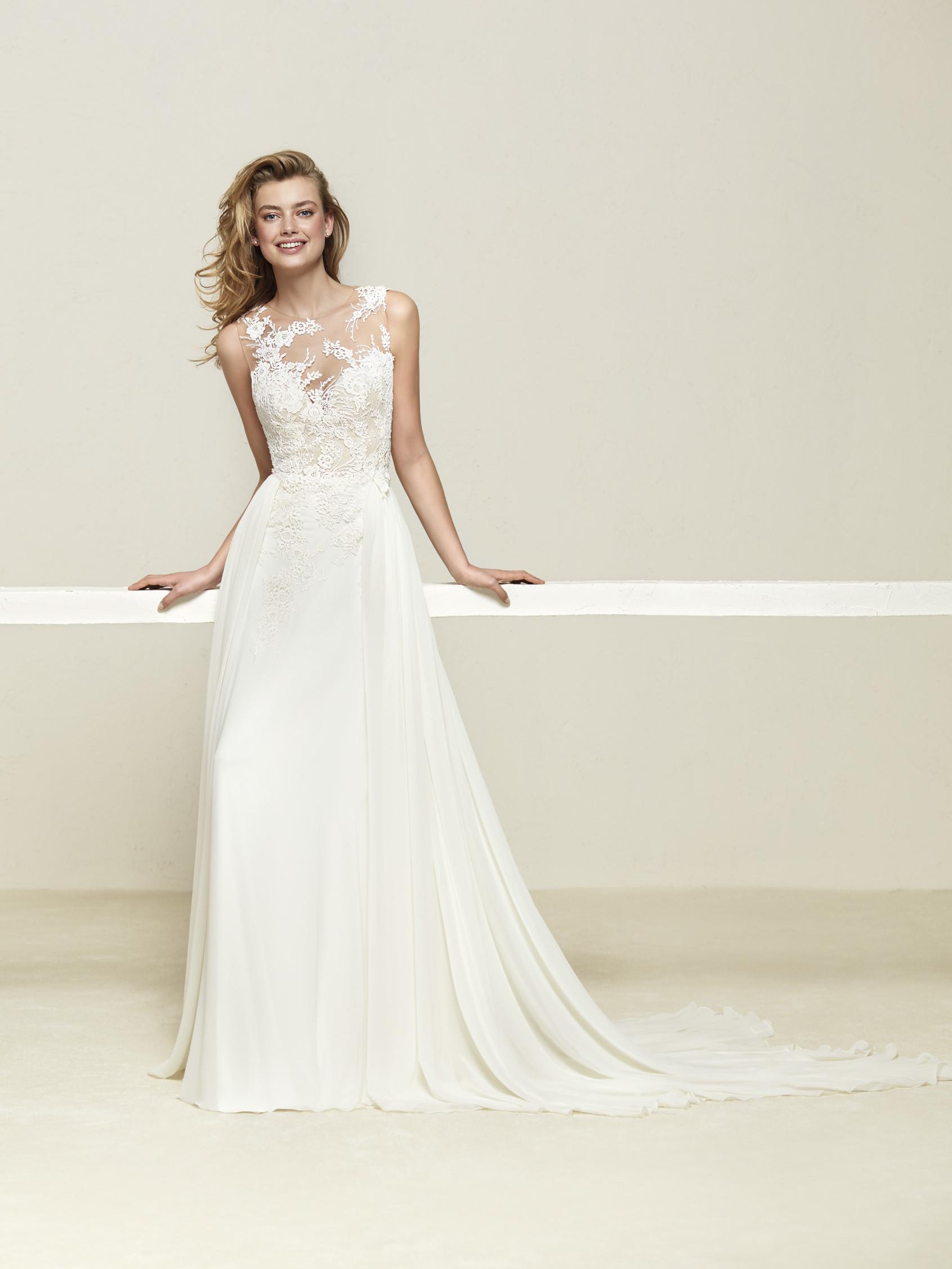 TodoBoda.com - Top 10 vestidos de novia 2018 de Pronovias