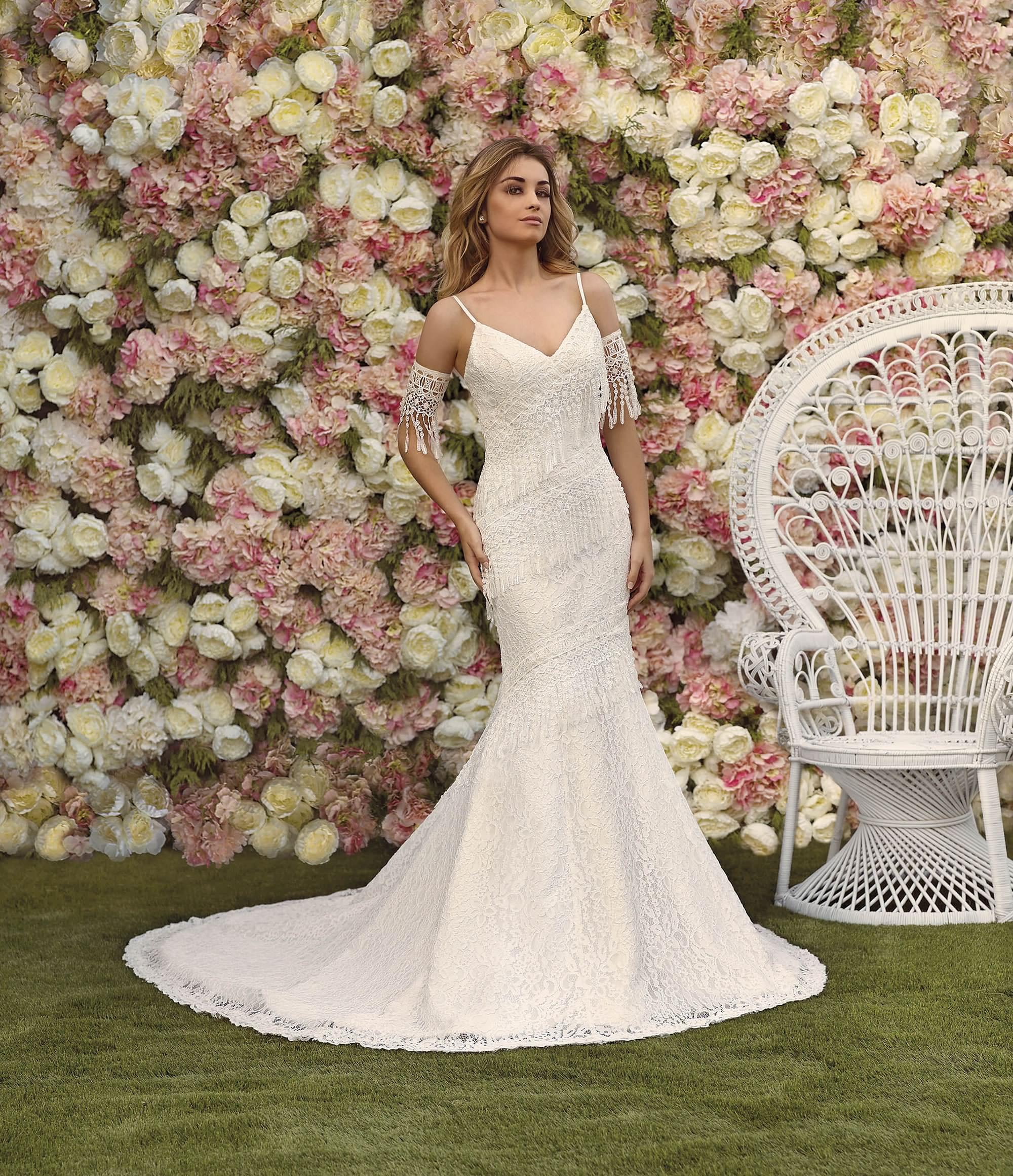 Modelos de vestidos de novia tipo sirena