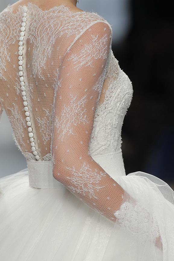 Falso para vestido de novia