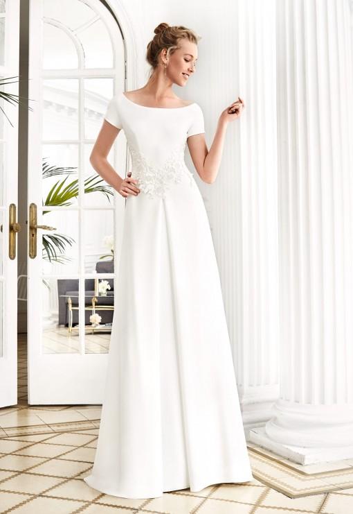todoboda - top 5 vestidos de novia sencillos