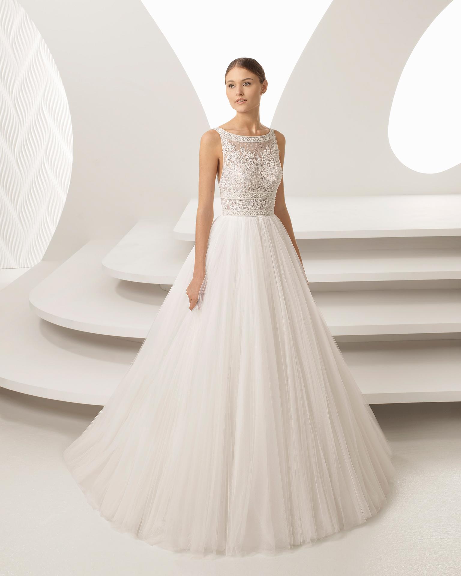 TodoBoda.com - Top 10 vestidos de novia 2018 Rosa Clará