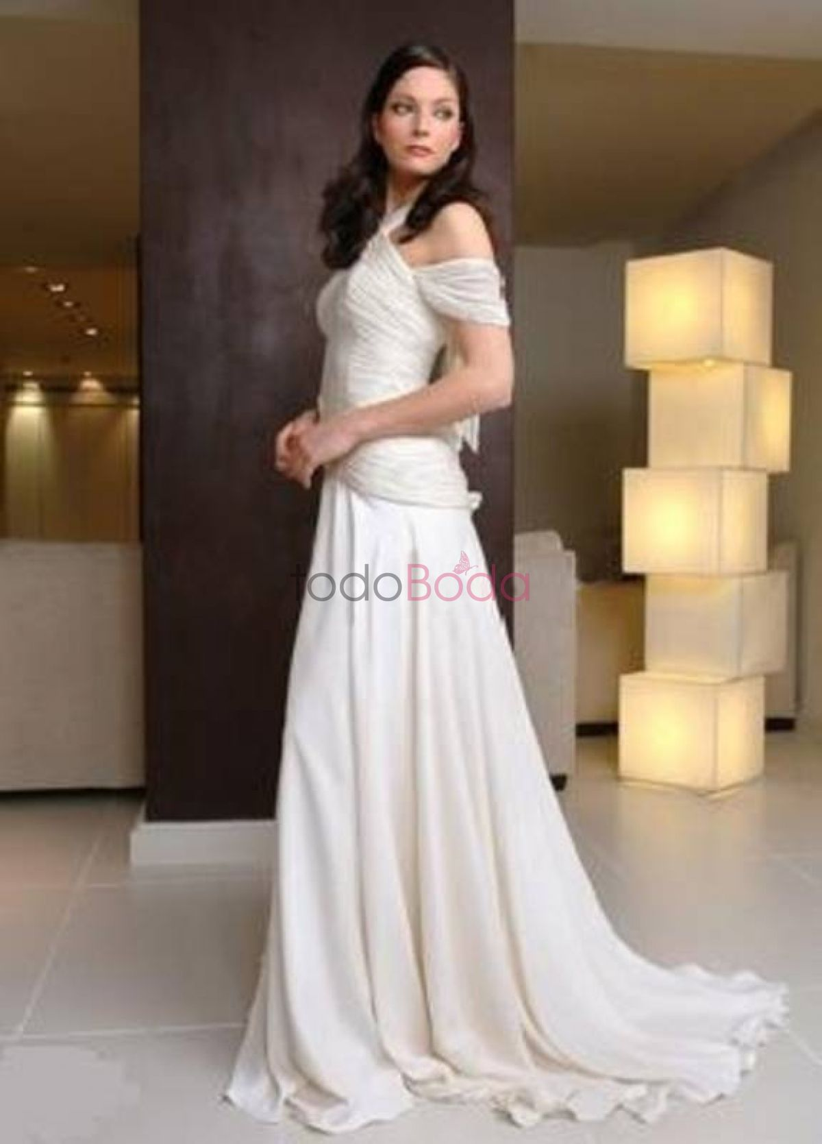 Vestido de novia calle colon