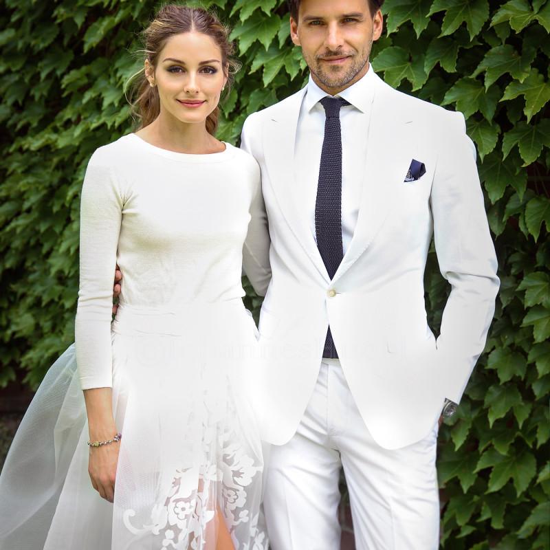 todoboda - traje de novio blanco: cómo llevarlo