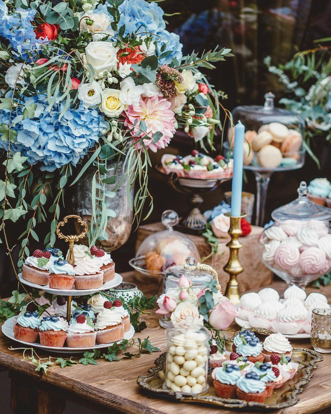 ideas originales para bodas candy bar