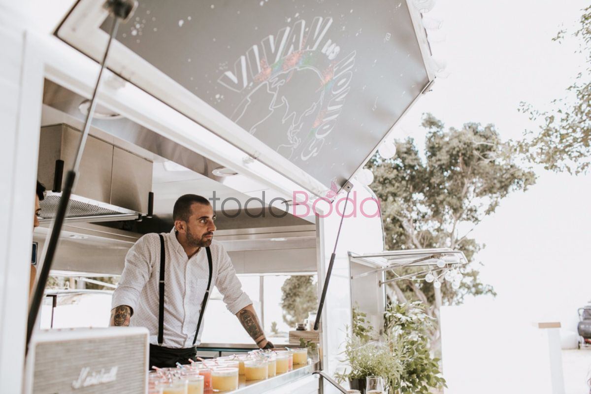ideas originales para bodas foodtruck