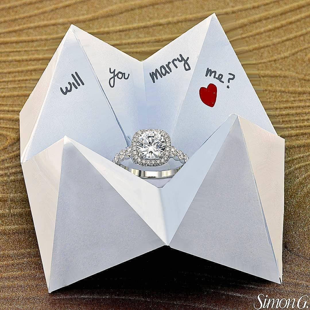 Ideas para una pedida de mano original - Bodas sencillas y romanticas ...