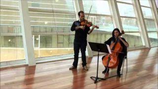 Ave María, Schubert. Dúo violín, violonchelo. Cuarteto Cervantes