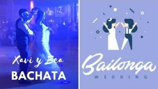 Baile de boda bachata. Xavi y Bea baile de novios.