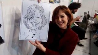 Caricaturas en vivo - Live caricatures