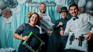 Photobooth Boda Trino y Claudia