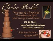 Chocolate-fundido, Fuentes De Chocolate