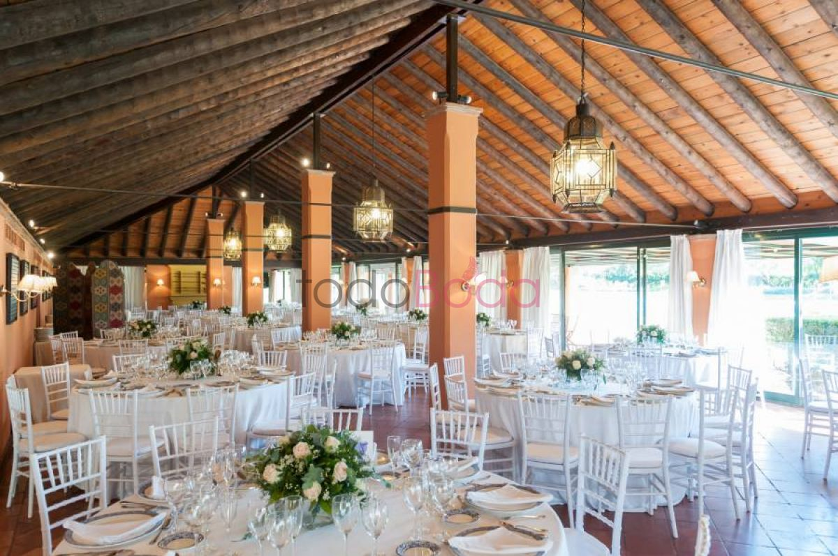 Tu boda en Real Club Sevilla Golf 0