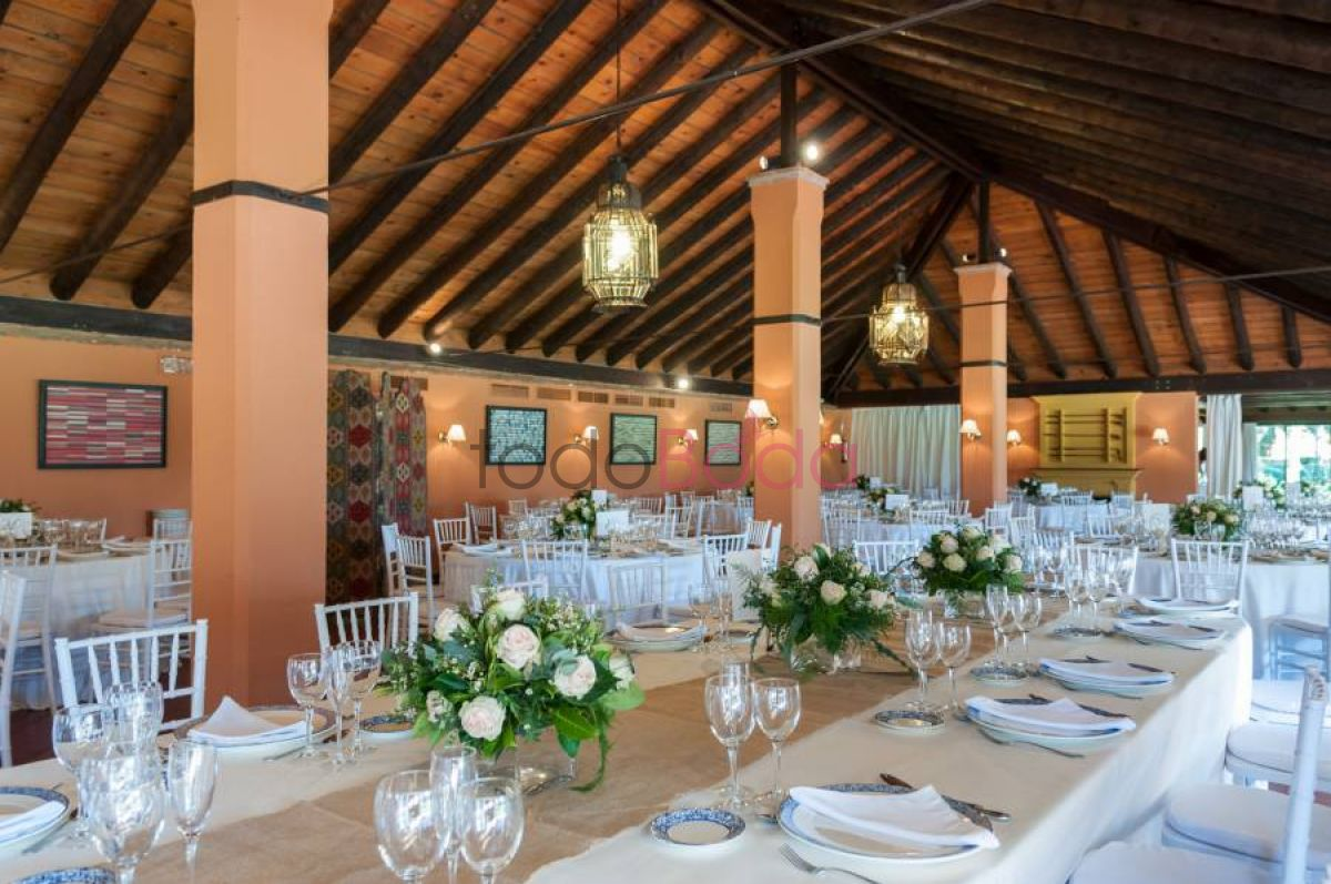Tu boda en Real Club Sevilla Golf 3