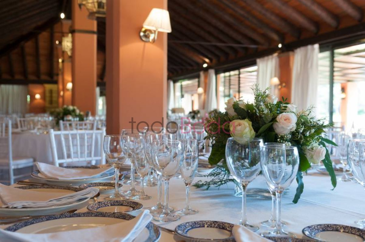 Tu boda en Real Club Sevilla Golf 5