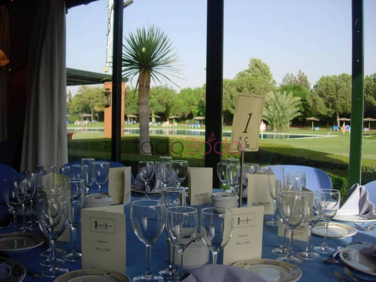 Tu boda en Real Club Sevilla Golf