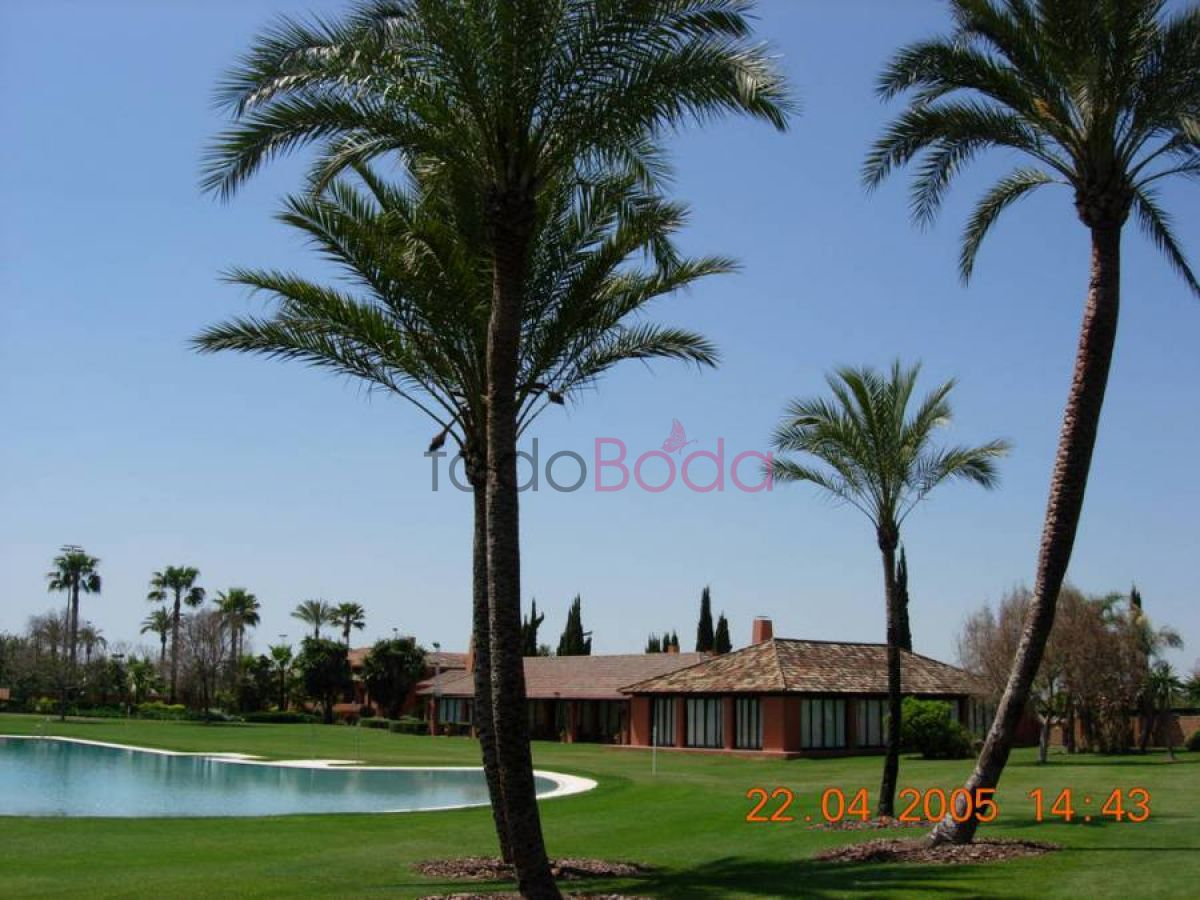 Tu boda en Real Club Sevilla Golf 2