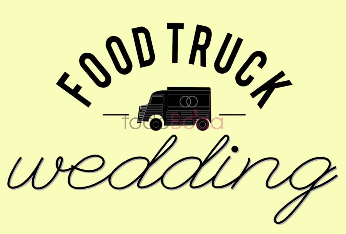 Logo Food Truck Wedding