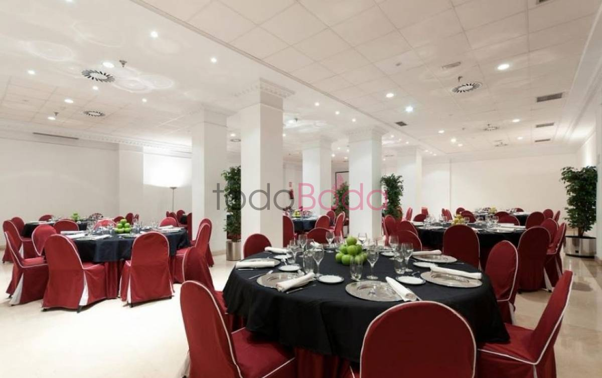 TRYP Atocha. Hoteles Bodas Madrid. Banquetes 1