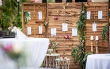 Wedding seating plan customised at GF Gran Costa Adeje