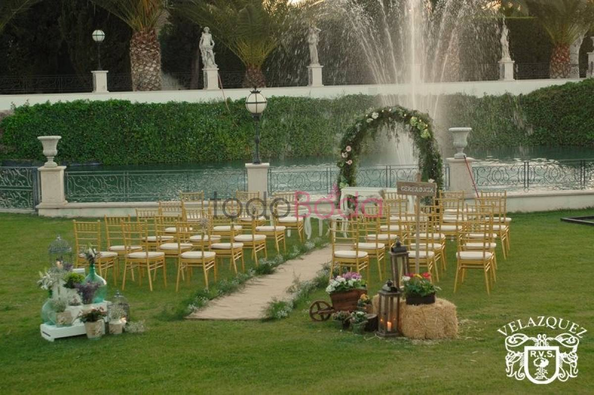 jardines caballo blanco by catering vel zquez fincas