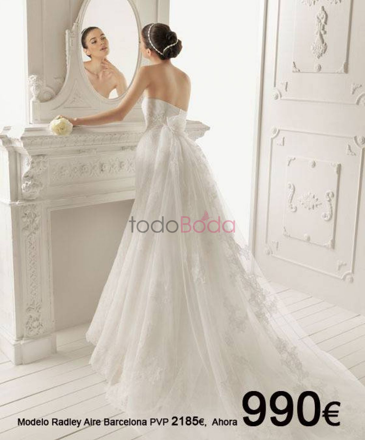 Outlet vestidos novia en madrid